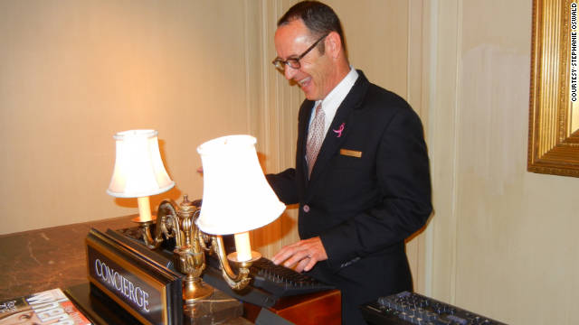 Many frequent travelers say they have never ventured to the concierge desk. What keeps them away?