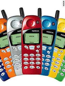 "It seemed like everyone and their mother had a Nokia 5110 in the late 1990s. At the time Nokia was the leading cell phone company in the world; the 5110 was just one of many GSM (global system for mobile) communication devices Nokia produced. The interchangeable, colored covers made the product attractive to a wider audience, but what most people probably remember is that it featured one of the first popular mobile games, ""Snake."""