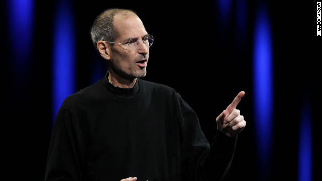 Apple CEO Steve Jobs delivers the keynote address at the 2011 Apple World Wide Developers Conference in San Francisco on June 6.