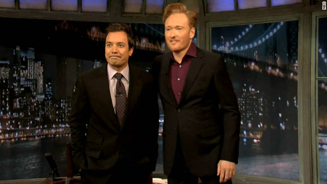 Conan stops by old 'Late Night' stomping grounds