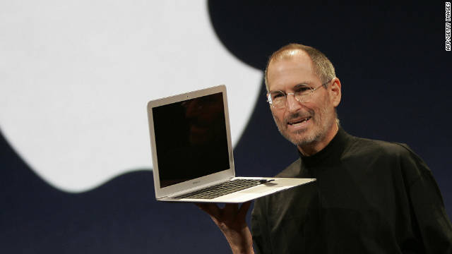 Apple co-founder Steve Jobs died Wednesday at home in Palo Alto, California.