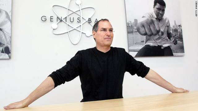 We knew Steve Jobs best as the face of Apple -- the man who introduced the company's biggest products in front of cheering audiences filled with fans and journalists. He was in his element onstage in a black turtleneck and jeans, playing with the new iPod, iPhone or iPad. But Jobs also had a life offstage, one filled with celebrities, foreign leaders and, perhaps most importantly, his fans.