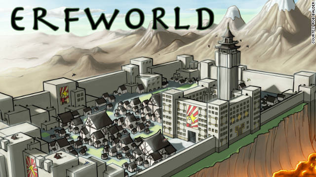 Web Comic Spotlight: 'Erfworld's' Rob Balder