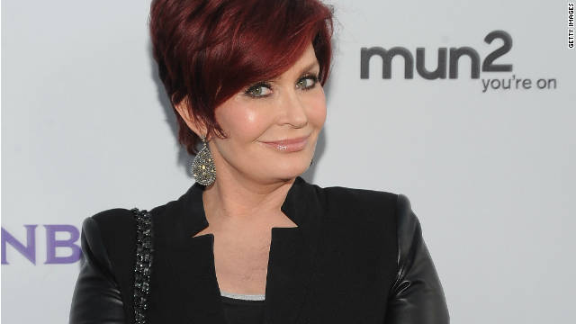 Sharon Osbourne reveals breast implant removal