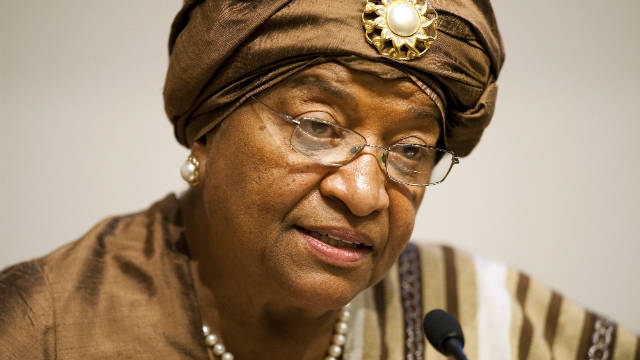 Ellen Johnson Sirleaf, a winner of the 2011 Nobel Peace Prize, was Africa's first democratically elected female president.