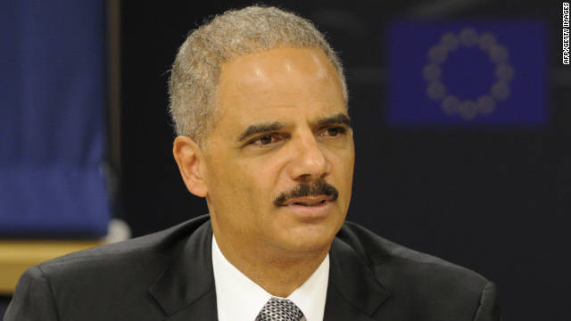 U.S. Attorney General Eric Holder on GOP criticism of his handling of a controversial gun enforcement operation: