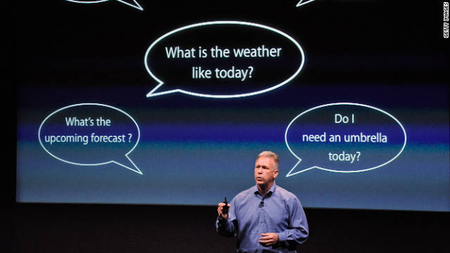 Phil Schiller, Apple's senior vice president of worldwide product marketing, explains Siri, the personal assistant for the iPhone 4S.