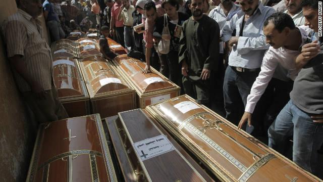 Obama 'deeply concerned' about Egypt violence