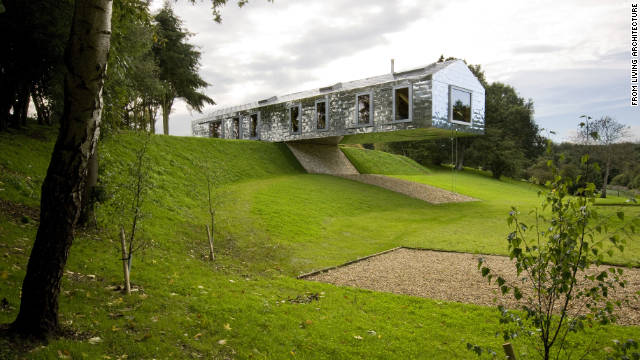 The Balancing Barn in Suffolk, on the edge of a nature reserve, sleeps eight people.