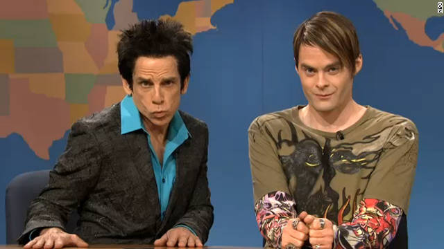 Derek Zoolander debuts a new look on 'SNL'