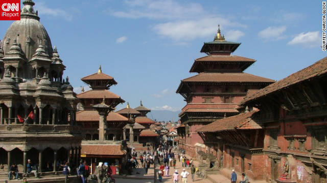 "Picturesque Kathmandu, Nepal, is a fabled city that has long ranked among the most exotic in the world in many travelers' minds. It's also the starting point for many a journey through Nepal, although it's quite an adventure in itself. Christa Gockel, a resident of Ho Chi Minh City, Vietnam, visited Kathmandu in 2008 while on holiday in the country. ""Kathmandu is the first place you see when you come to Nepal,"" she said. This photo shows Durbar Square in Patan, one of three such plazas in the Kathmandu Valley. They stand as legacies of the Old World, and are at the heart of Nepal's cultural and spiritual spheres."