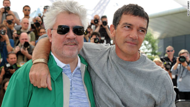 Banderas reunites with man who made him famous