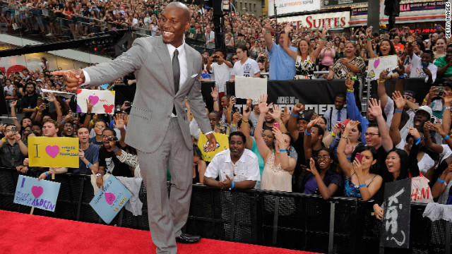 Tyrese has hope for a 'Transformers 4'