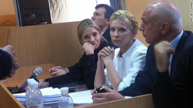 Un tribunal condena a la ex primera ministra de Ucrania Yulia Tymoshenko
