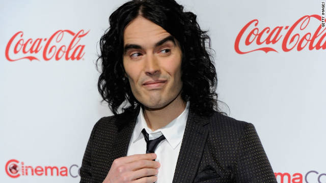 Russell Brand runs into trouble in New Orleans