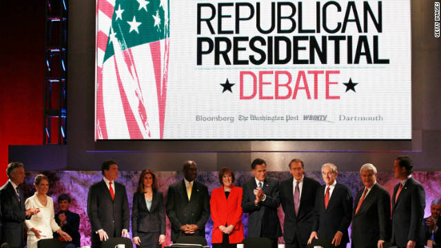 Republican presidential candidates took part in another debate Tuesday.