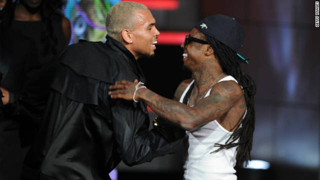 Lil Wayne, Chris Brown take honors at BET Hip-Hop Awards