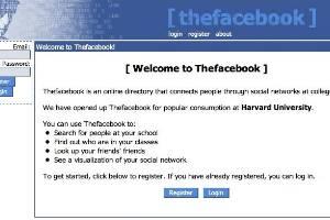 2004: Lanzamiento de Facebook