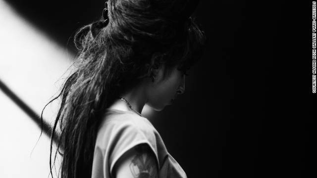 Late singer Amy Winehouse, Barcelona, 2007