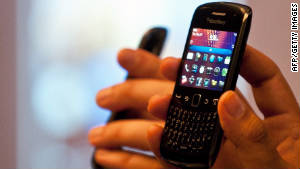 BlackBerry customers complained of mail delays and connectivity outages on their devices in October.