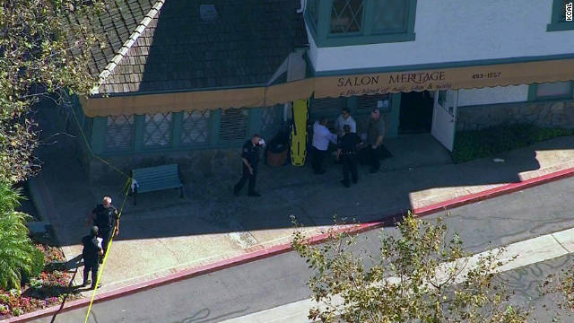 Man charged in California salon shooting