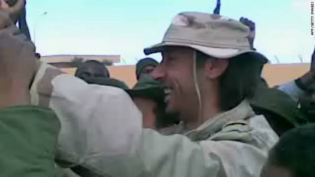 Conflicted reports about Gadhafi son's capture