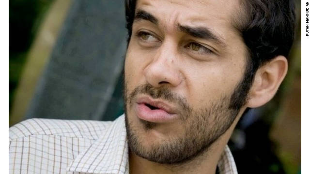 Iranian student Puyan Mahmudian says he was arrested while a student: