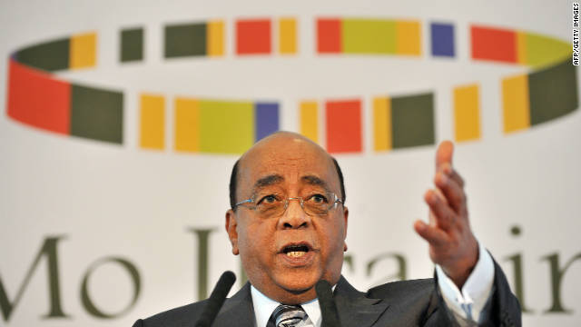 Mo Ibrahim's message to dictators: