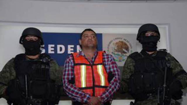 Oliva Castillo, accused of overseeing criminal operations in three Mexican states, has been captured in Saltillo, Mexico.