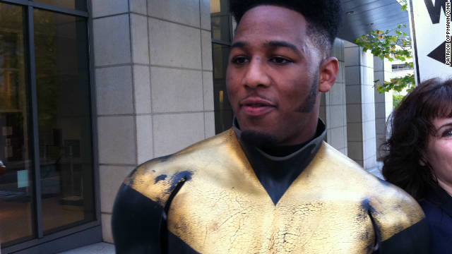Ben Fodor, aka Phoenix Jones, pepper sprayed a group of people outside a nightclub in October.