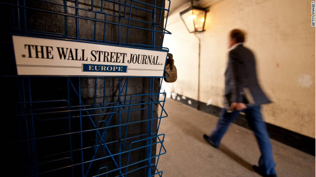 Allegations have arisen that circulation figures for the European edition of the Wall Street Journal were boosted by complex cut-price deals with a sponsor.