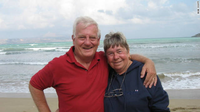 Retirees Bob and Anna Scott now regard Crete as home but face increased taxes
