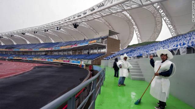 Todo listo para la inauguración de los Juegos Panamericanos
