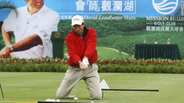 David Leadbetter is recognized as one of the world's leading golf instructors, and has worked with stars such as Nick Faldo, Nick Price, Ernie Els and Greg Norman.