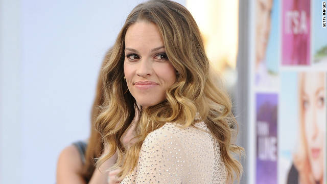 Hilary Swank donates money from Chechen leader