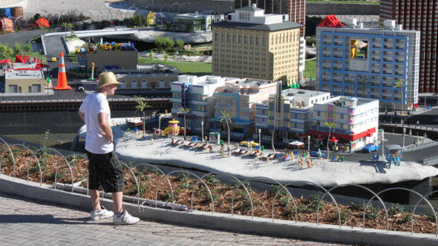 Miniland USA includes scenes from across Florida, including Miami and Miami Beach.