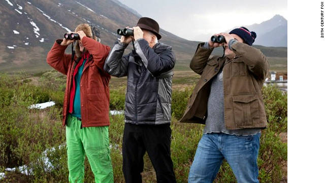 Owen Wilson, Steve Martin and Jack Black are out to spot birds in