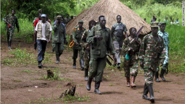 Obama orders U.S. troops to help chase down African &#039;army&#039; leader