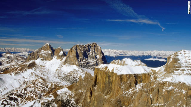 "Le Corbusier called the Dolomites, ""the most beautiful architectures in the world."""