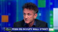 Sean Penn's support for Occupy Wall Street