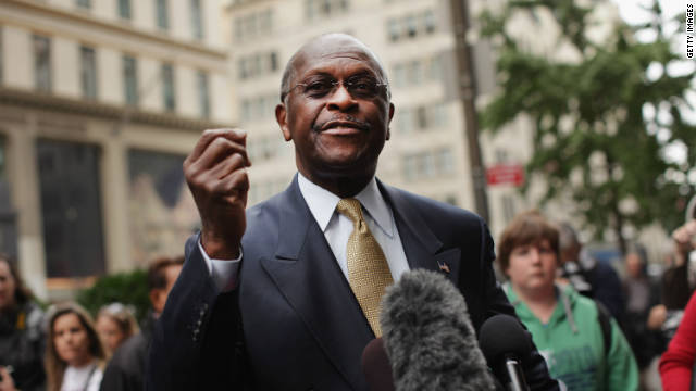 Overheard on CNN.com: Cain talks the talk they like to hear