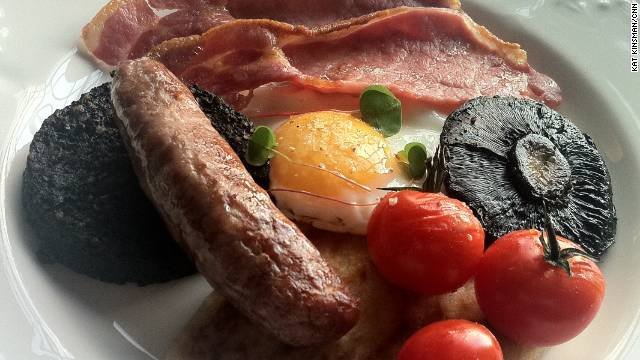 Lick the Screen - Scottish breakfast