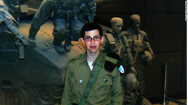 An undated photo shows Gilad Shalit before his capture.