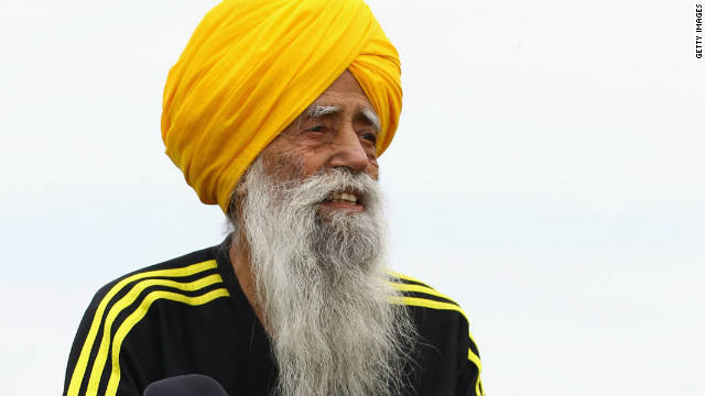 Fauja Singh, who was born in rural India in 1911, did not start running marathons until he was 89.