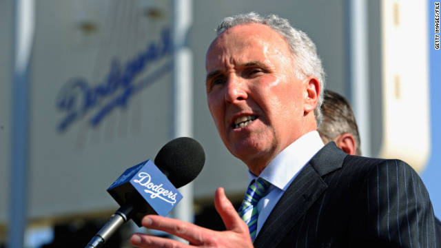 Frank McCourt bought the Los Angeles Dodgers seven years ago with his wife, Jamie. They are now going through a divorce.