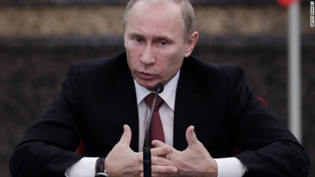 Russia's Prime Minister Vladimir Putin said Monday that he envisioned his return to the country's top job all along.