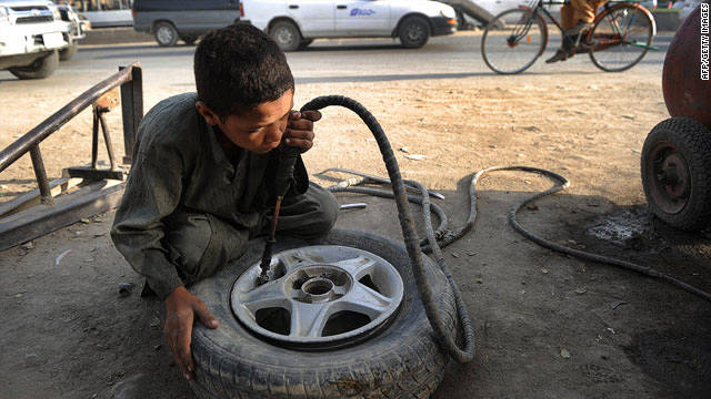 Afghanistan Child Labor Effects