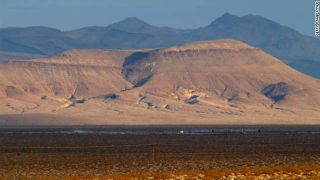 A two-hour drive from Las Vegas, Yucca Mountain was the proposed site of the nation's nuclear waste repository.