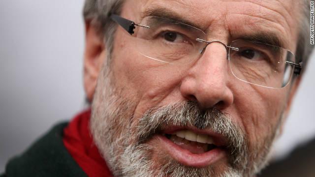 Líder del partido irlandés Sinn Fein es investigado por un asesinato de 1972