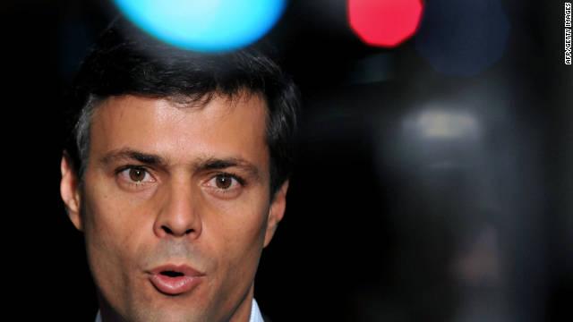Corte de Venezuela falla contra Leopoldo López pero podrá ser candidato presidencial